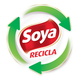 Logotipo Soya recicla